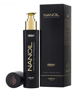Action of Nanoil hair oil